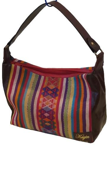 Red Buna Shoulder Bag