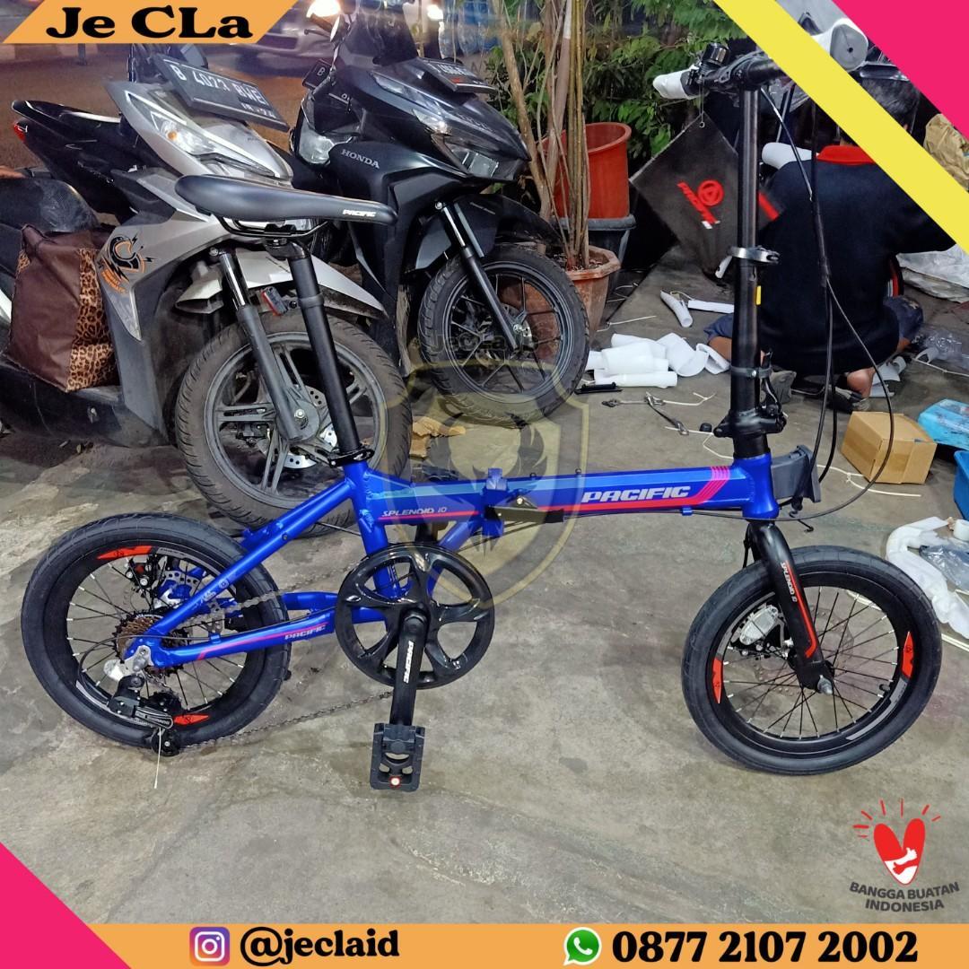 Sepeda Lipat 16 Inch PACIFIC SPLENDID 1.0 (Cash/Credit)