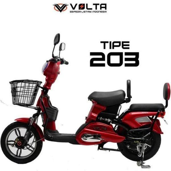 Sepeda Listrik Volta 203 650 watt Bisa cash/cicilan tanpa kartu kredit
