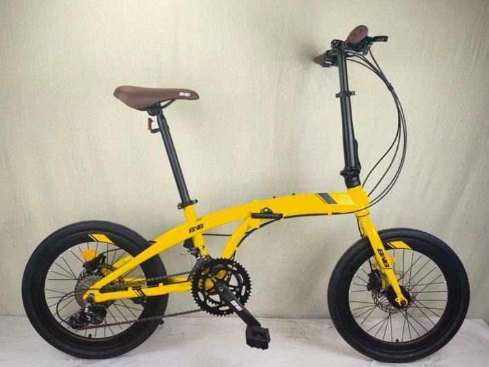Sepeda merk BNB Warna Kuning New No Nego