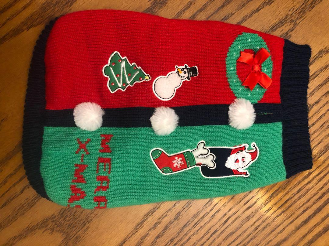 Small Pet Ugly Christmas Sweater