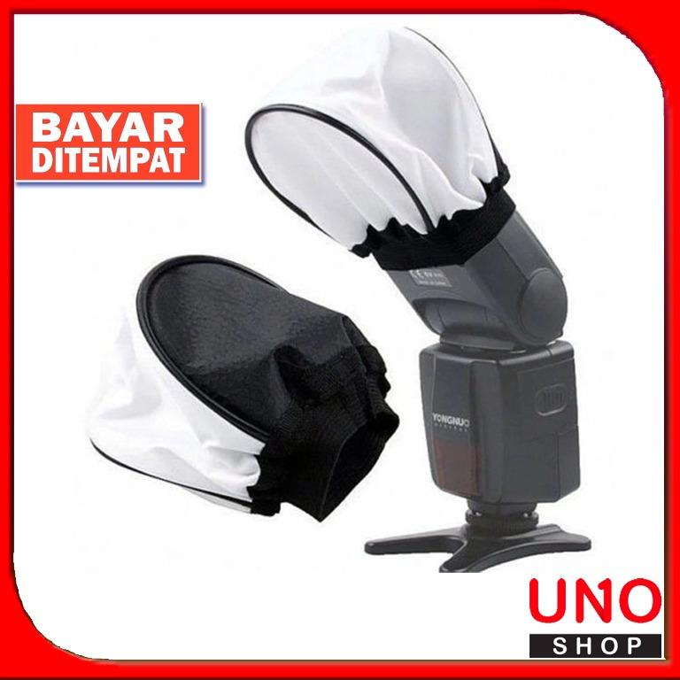 Soft Flash Diffuser Kamera Universal White