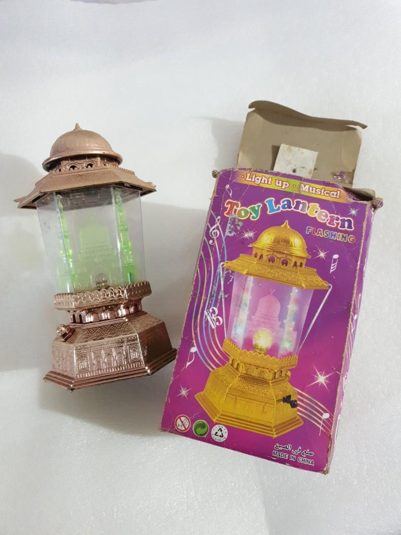 Toy Lantern Mosque Lentera Lampu Masjid