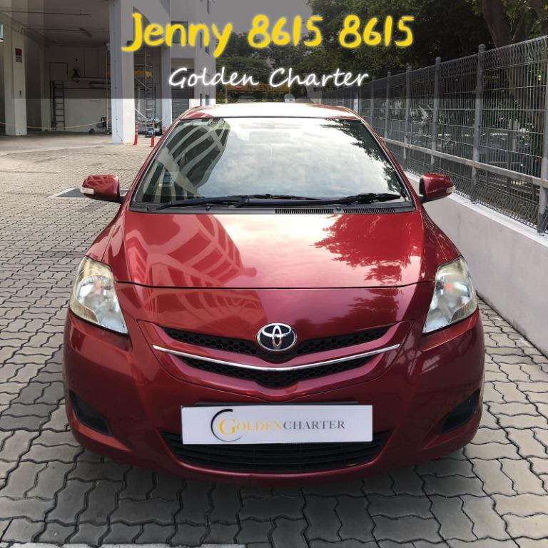 Toyota Vios 1.5a PHV grab gojek personaluse delivery parcel