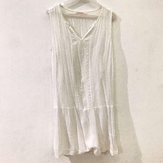 White Cute Summer Dress