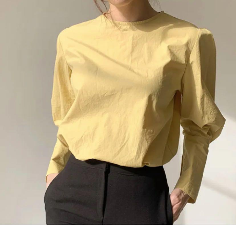 Yellow Blouse size S (6-8)