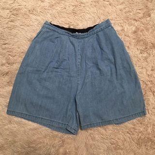 31-36 Preloved Highwaist Denim Shorts