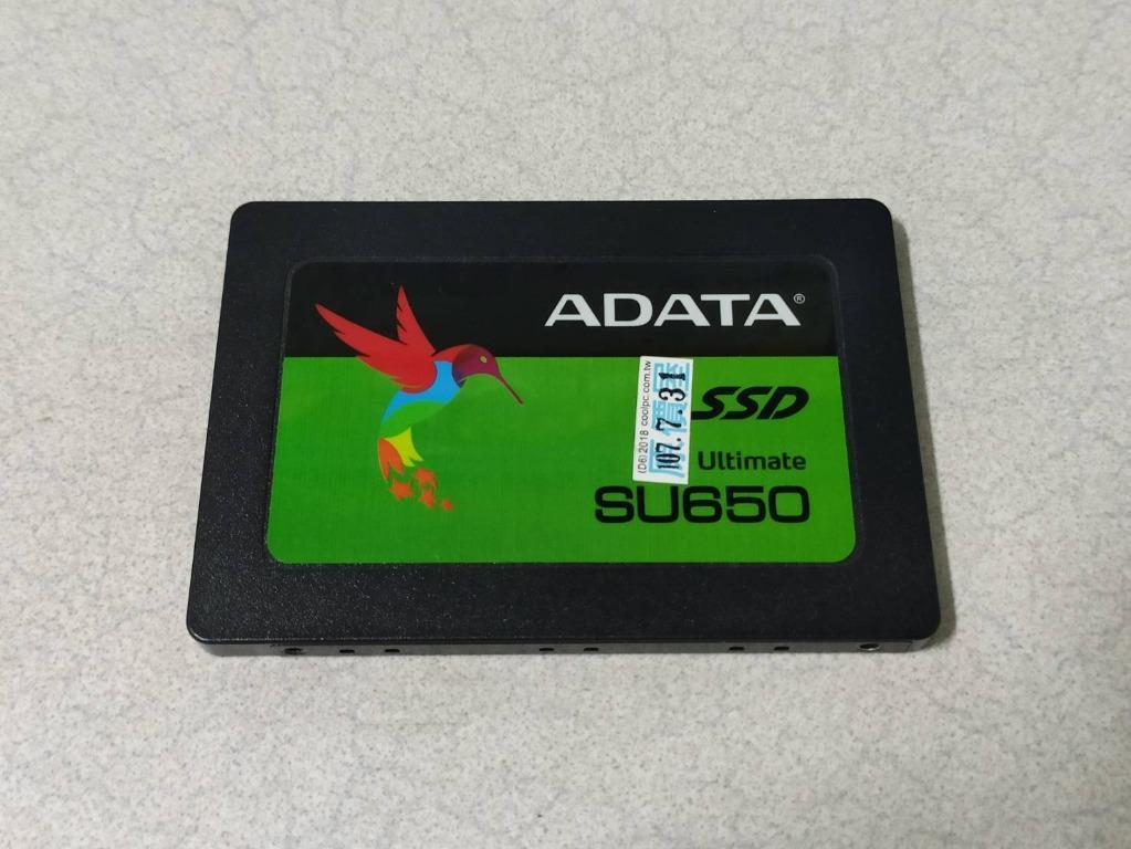 ADATA 威剛Ultimate SU650 120G 2.5吋SATA SSD固態硬碟