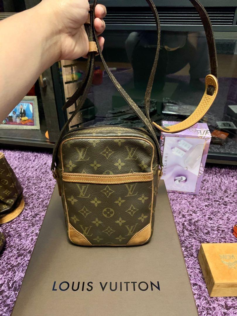 authentic LV danube sling bag