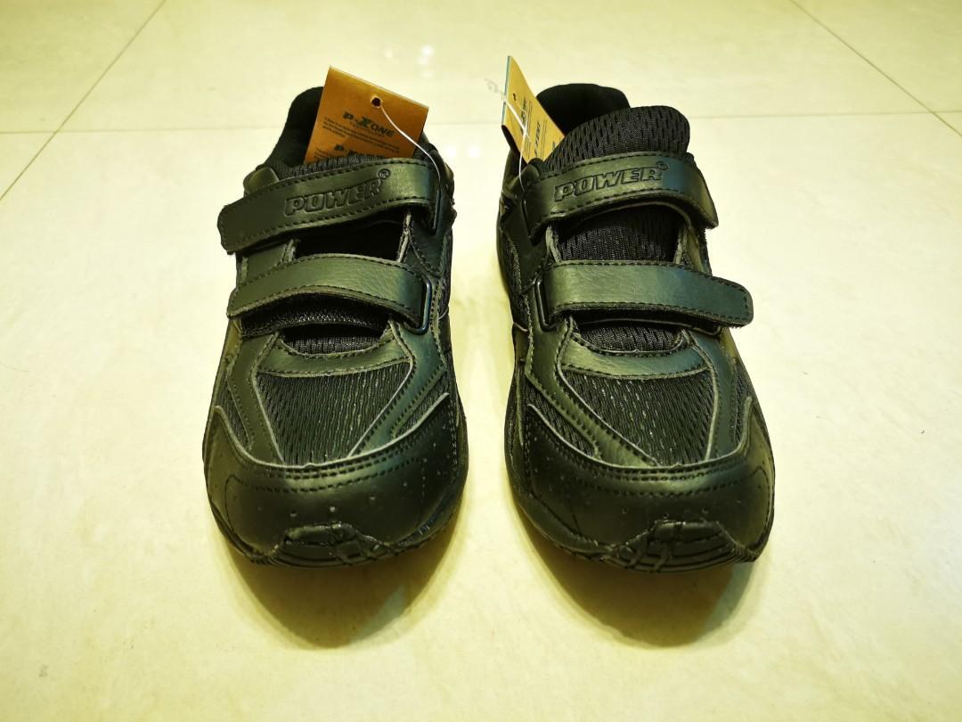 Bata black school shoes US size 3
