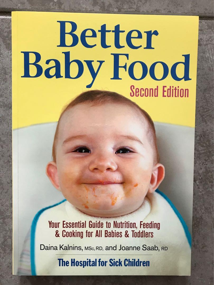 'Better Baby Food' Paperback by The Hospital for Sick Children