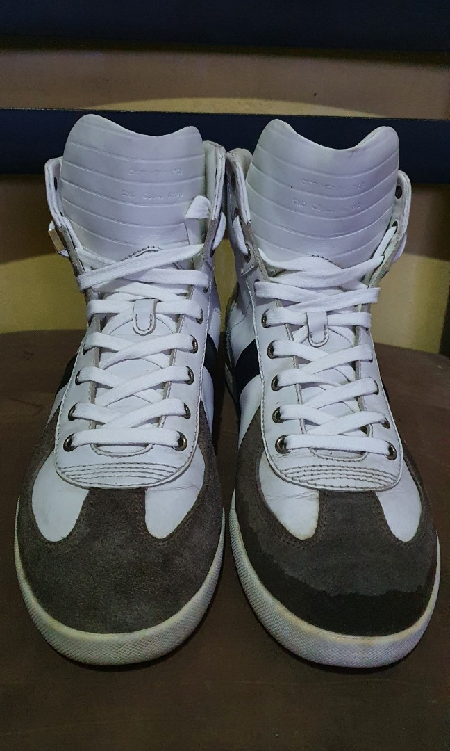 dior homme high top sneakers