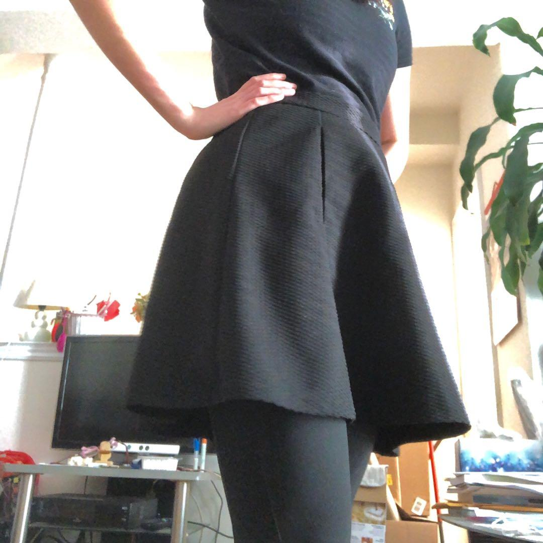 Dynamite black pleated skirt | Size S (NWT)