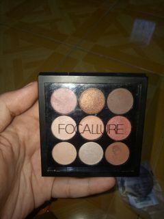 Focallure nine colors eye shadows FA 36-02