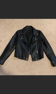 Forever 21 leather jacket size small