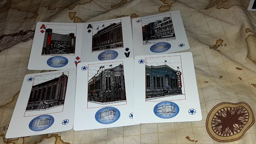 Heritage NHL playing cards