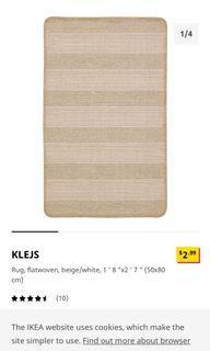 IKEA small rug
