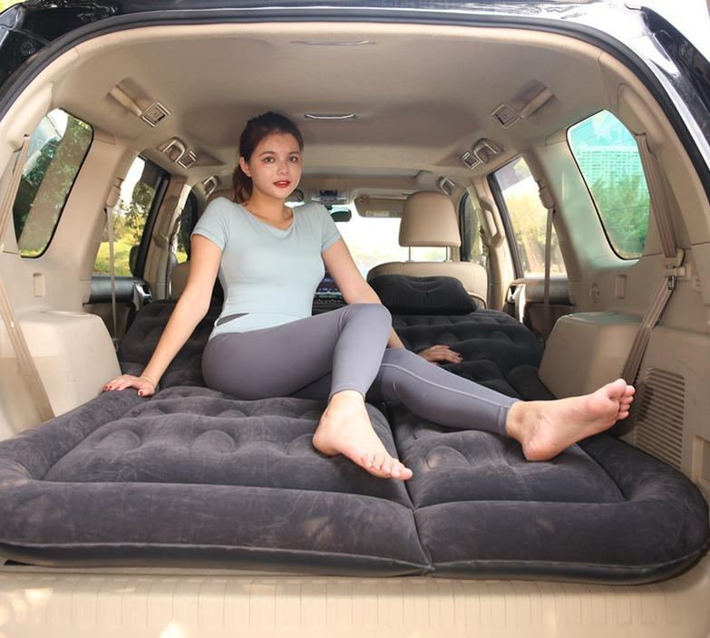 Inflatable car bed, outdoor use, Car