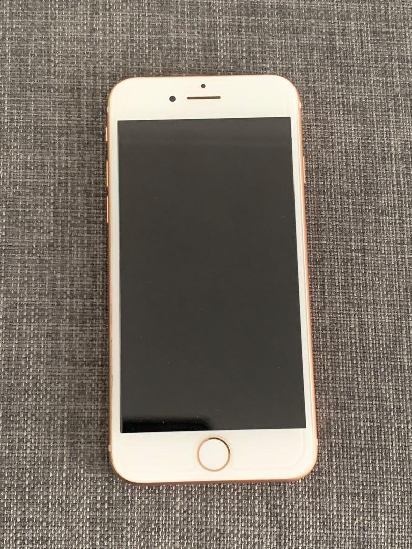 IPHONE 8 WHITE/ROSE GOLD LNIB