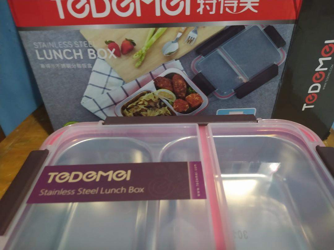 LUNCH BOX STAINLESSS TEDEMEI