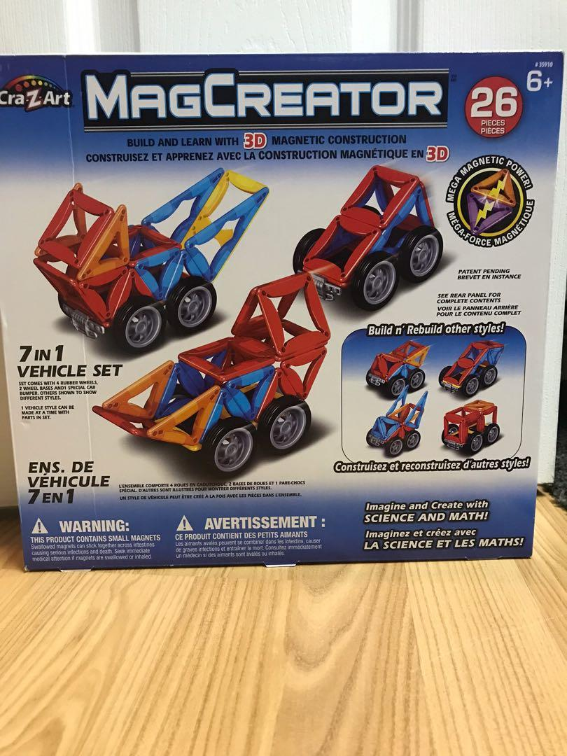 MagCreator 3D magnet toy