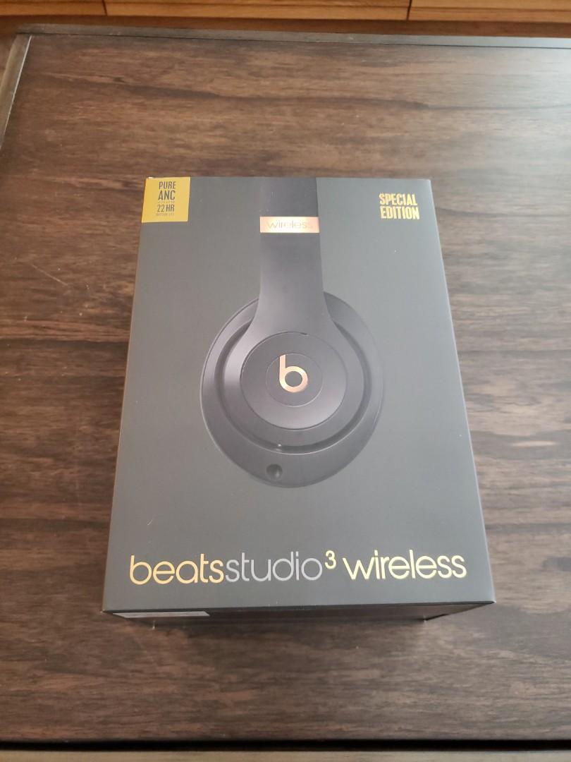 New beats studio 3 wireless headphones special edition