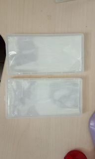 PCCB banknotes Plastic with case storage