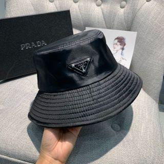 Prada black fashion hat free shopping