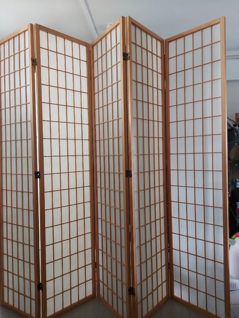Japanese Room Divider 5panel Furniture Others On Carousell