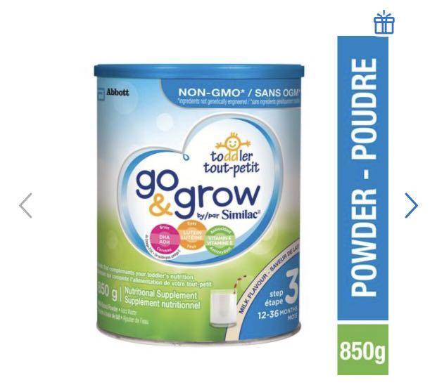 Similac Formula Go and Grow Step 3