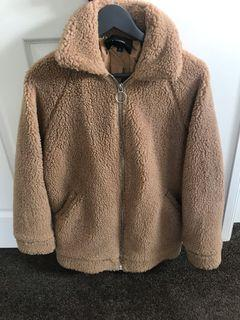 Teddy zip up size S from glassons