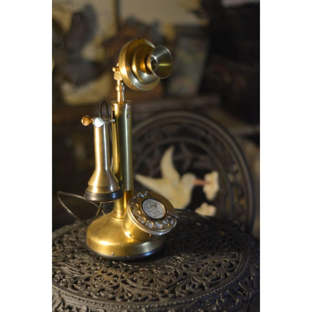 Telfon telepon jadul antik vintage