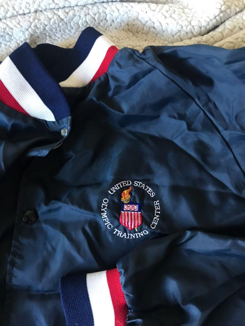 Vintage USA Olympic Training Center Jacket