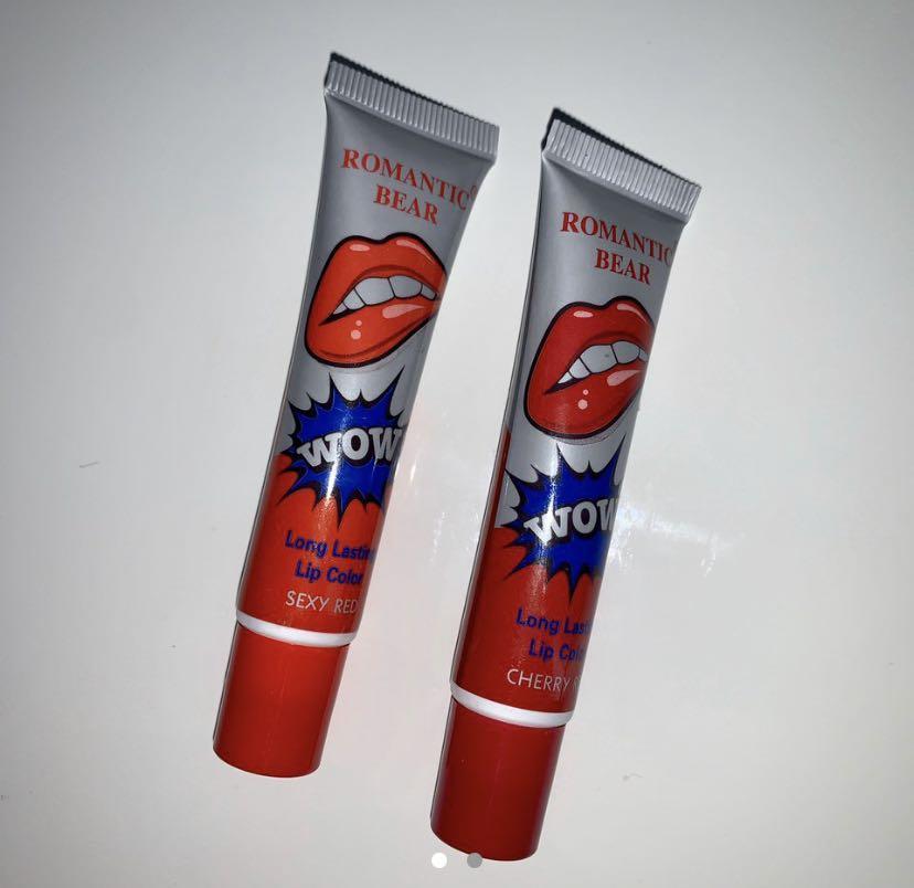 Waterproof peel of lipstick