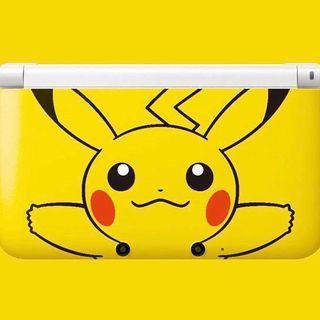 x2 Nintendo 3DS XL - Pikachu Edition & Black