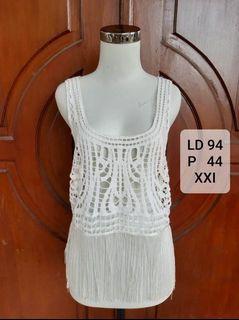 XXI lace white