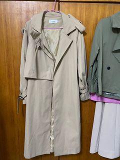 長板風衣外套