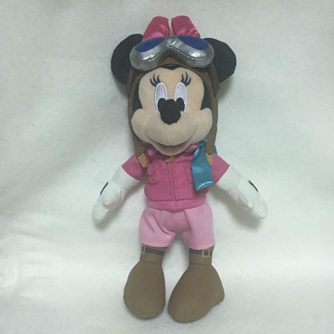 徵收/同系列唐老鴨 東京迪士尼 限定 夢幻奇航 飛行員 娃娃吊飾 別針吊飾