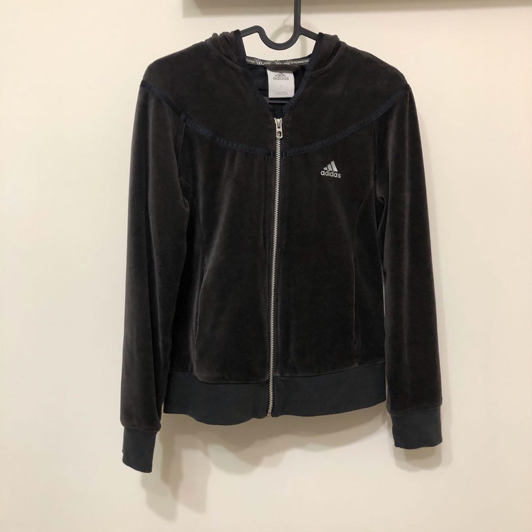 Adidas絨布外套