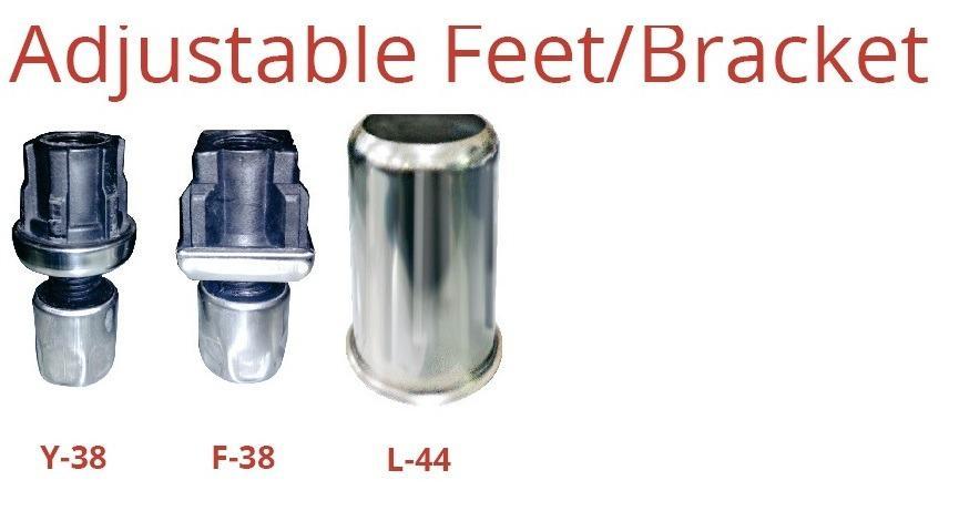 ADJUSTABLE FEET/BRACKET (F-38)