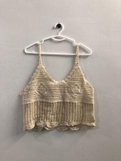 Air Space Crochet Top