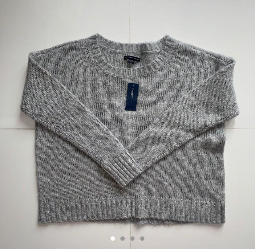 American eagle shine knit sweater