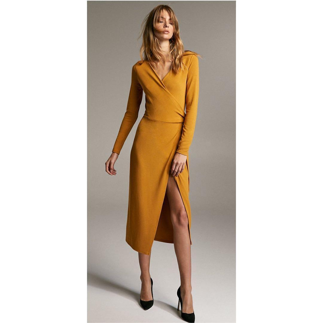 Aritzia Babaton Maxi Wrap Dress