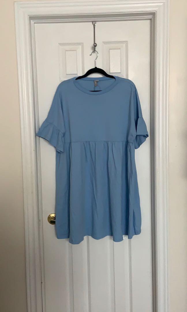 ASOS oversized babydoll dress