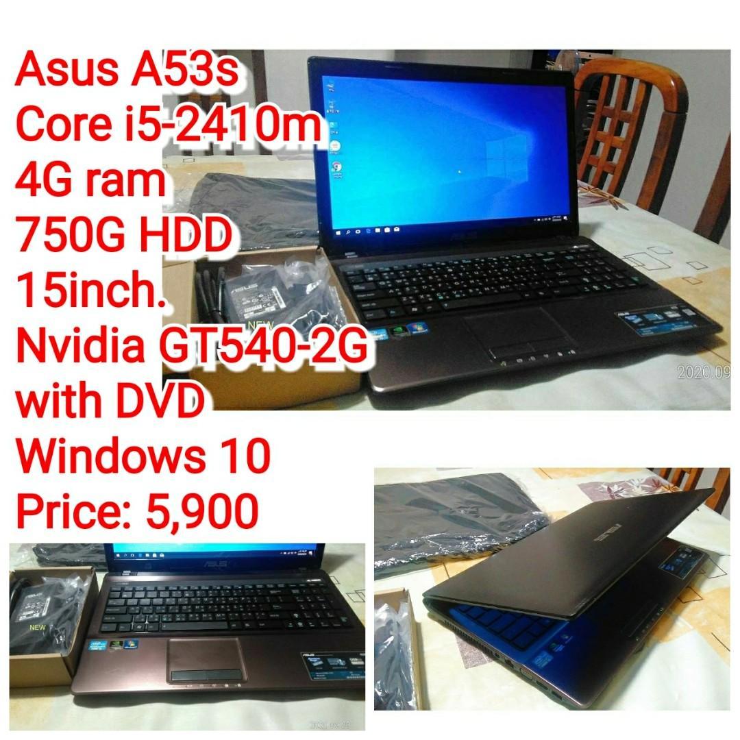 Asus A53s Core i5-2410m