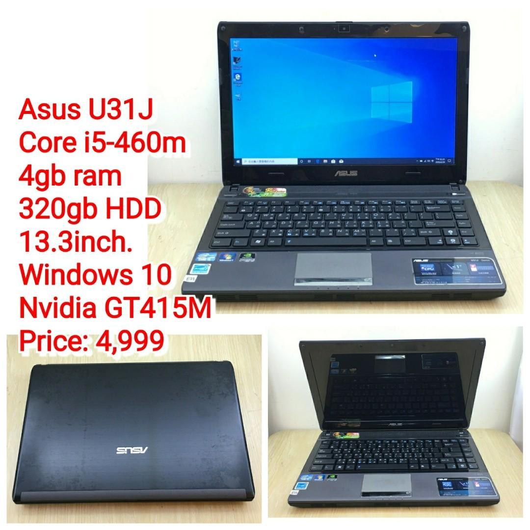Asus U31J Core i5-460m
