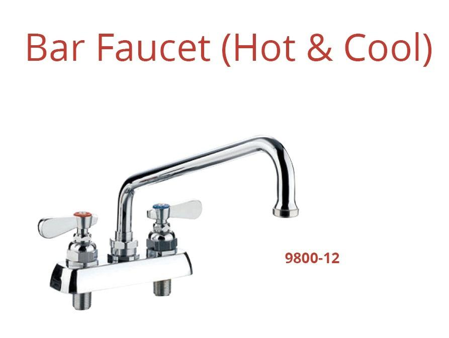 BAR FAUCET HOT & COOL (9800-12)