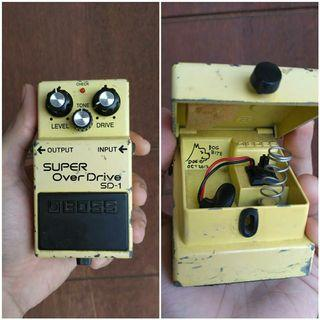 Boss SD-1 Dog bite Super Overdrive by DogieFX
