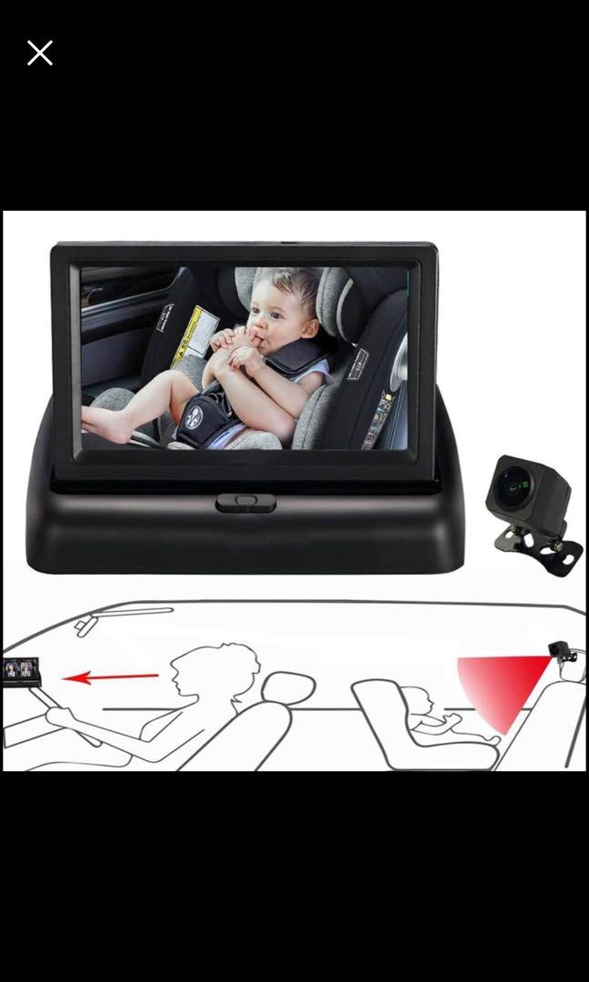 Brand new Baby Car Mirror, Car Seat Mirror for Rear Facing Infant