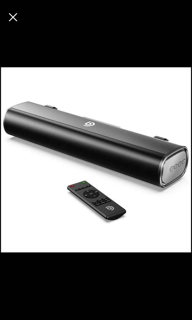 Brand new Bomaker soundbar, 16-Inch 2.0 TV and Computer Speaker with 105dB